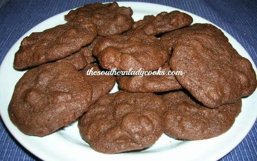 DOUBLE THE CHOCOLATE COOKIES