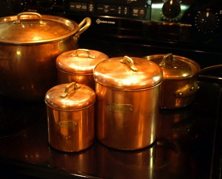 view - Copper Pots