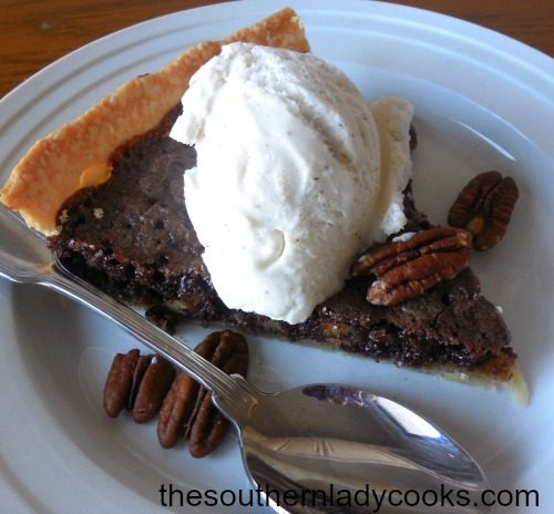 FANTASTIC FUDGE PIE
