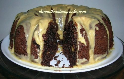 CHOCOLATE CHIP DEVIL'S FOOD CAKE