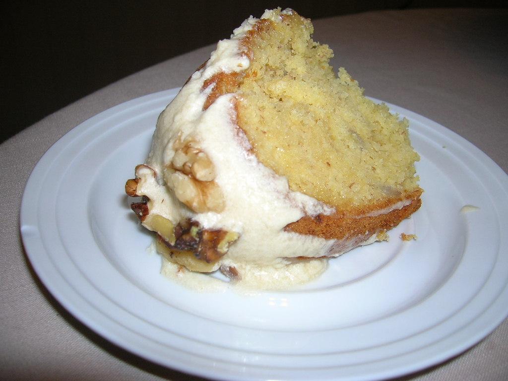Yellow Banana Cake The Southern Lady Cooks