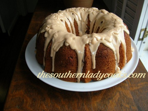 Butterscotch Rum Cake The Southern Lady Cooks