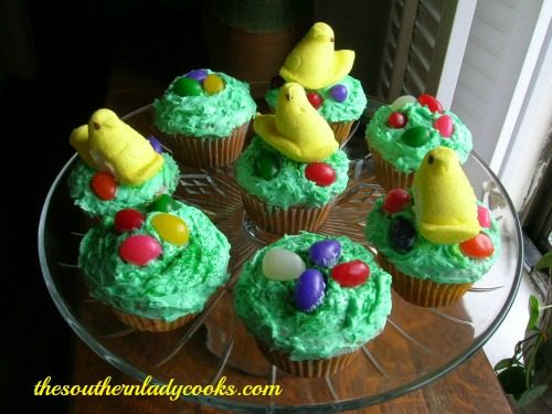 QUICK AND EASY EASTER CUPCAKES!