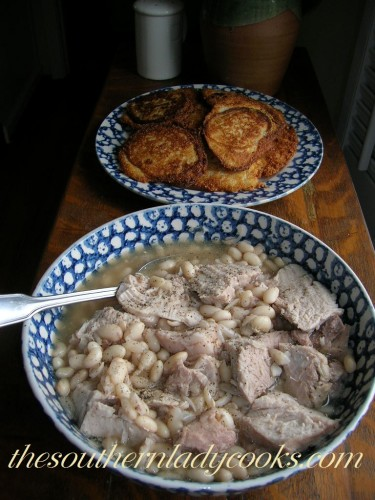 Crockpot Pork Roast And White Beans The Southern Lady Cooks