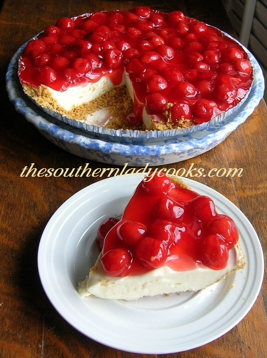 Strawberry Pie Filling Cake