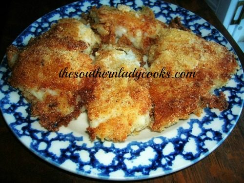 PAN FRIED COD FISH FILLETS