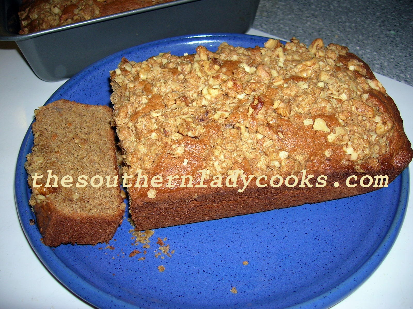 The Southern Lady Cooks – SOUR CREAM BANANA BREAD