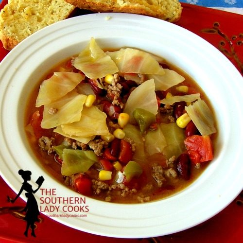CABBAGE FIESTA SOUP