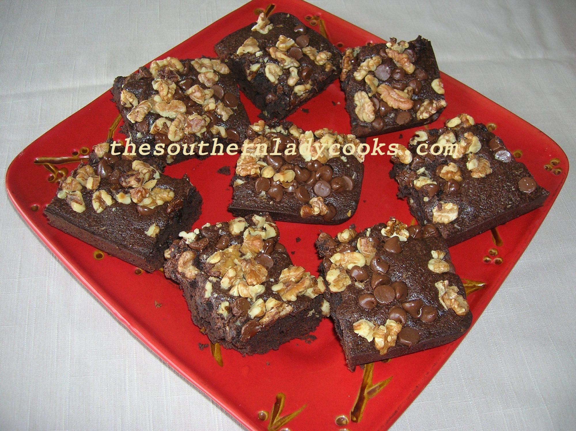 HEAVENLY CHOCOLATE BROWNIES