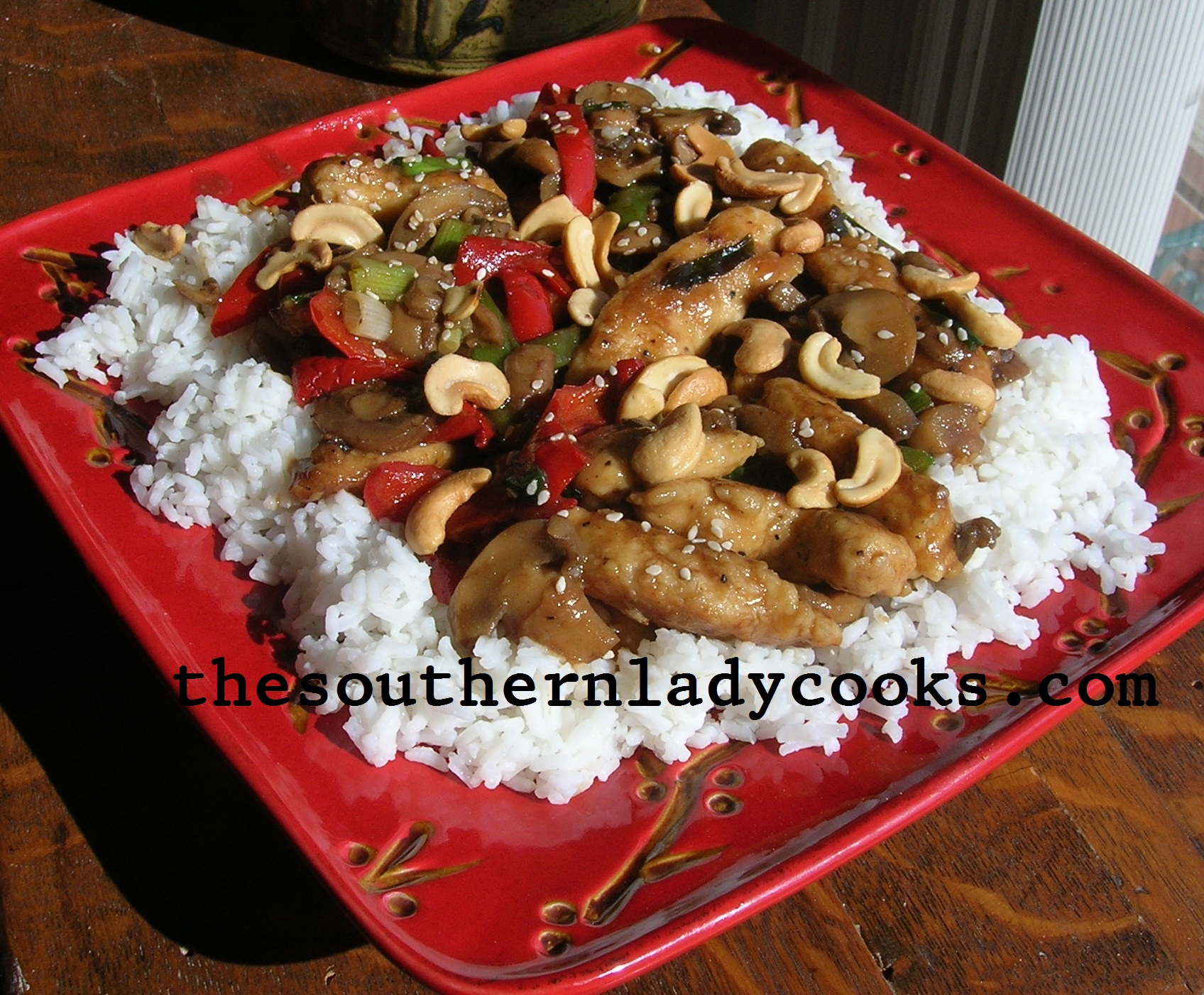 NUTTY GINGER CHICKEN
