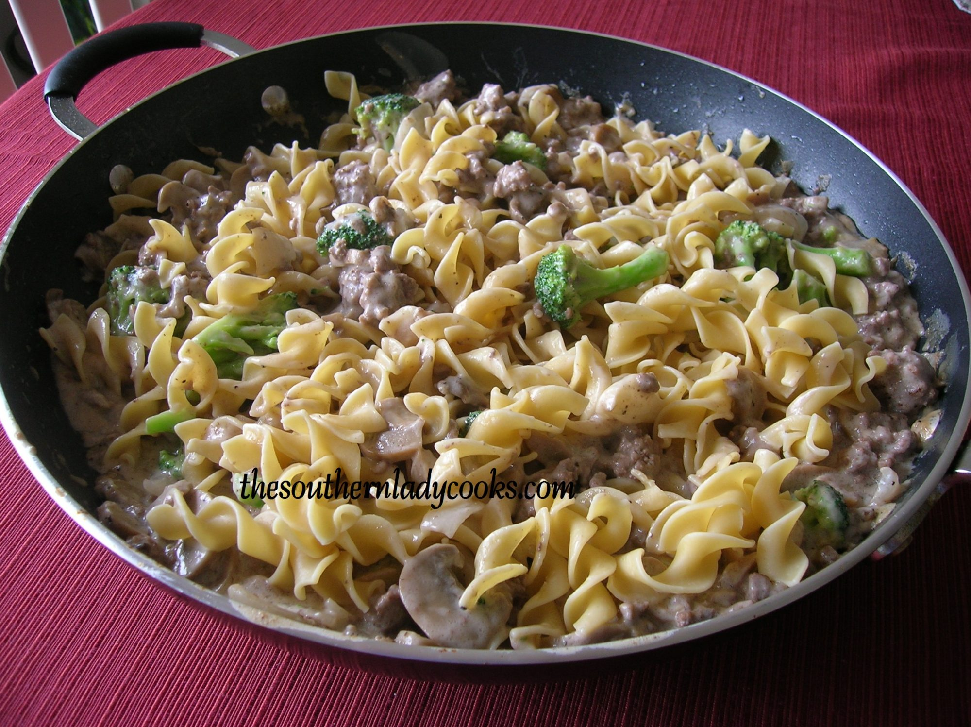 Hamburger Stroganoff is a great way to enjoy a quick and easy, comfort ...