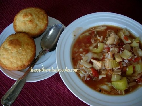 CROCKPOT TURKEY, CABBAGE & RICE SOUP