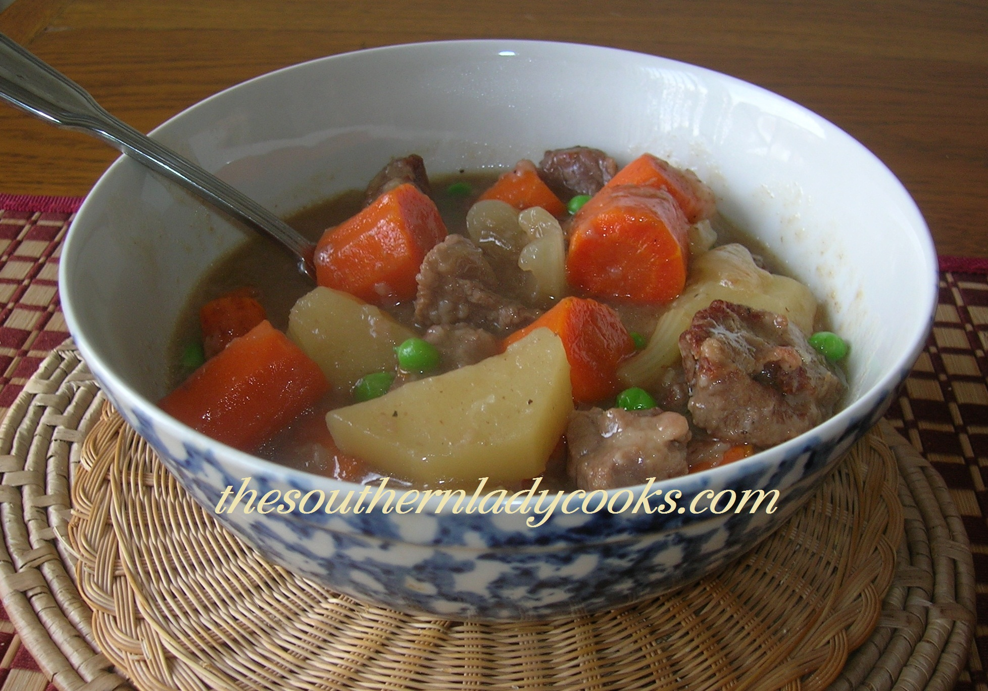 CROCKPOT BEEF STEW | The Southern Lady Cooks