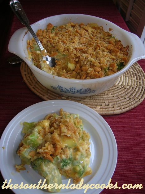 Broccoli Casserole - Copy