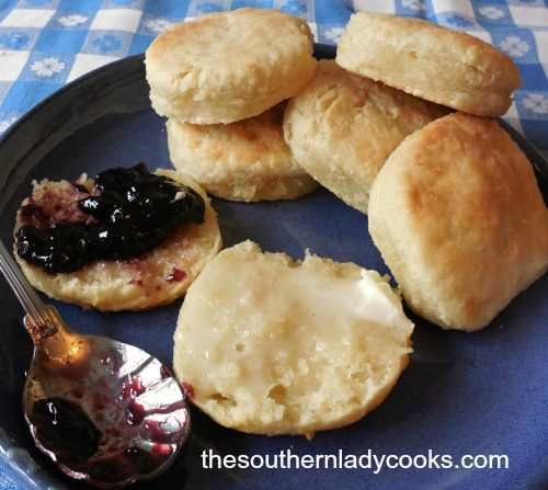 SOUR CREAM BISCUITS - The Southern Lady Cooks