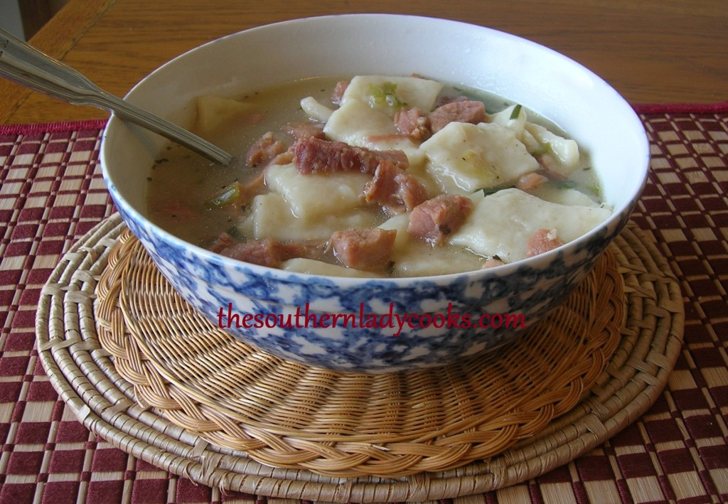 HAM AND DUMPLINGS