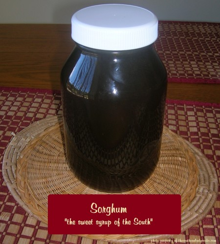 SORGHUM – SWEET SOUTHERN SYRUP