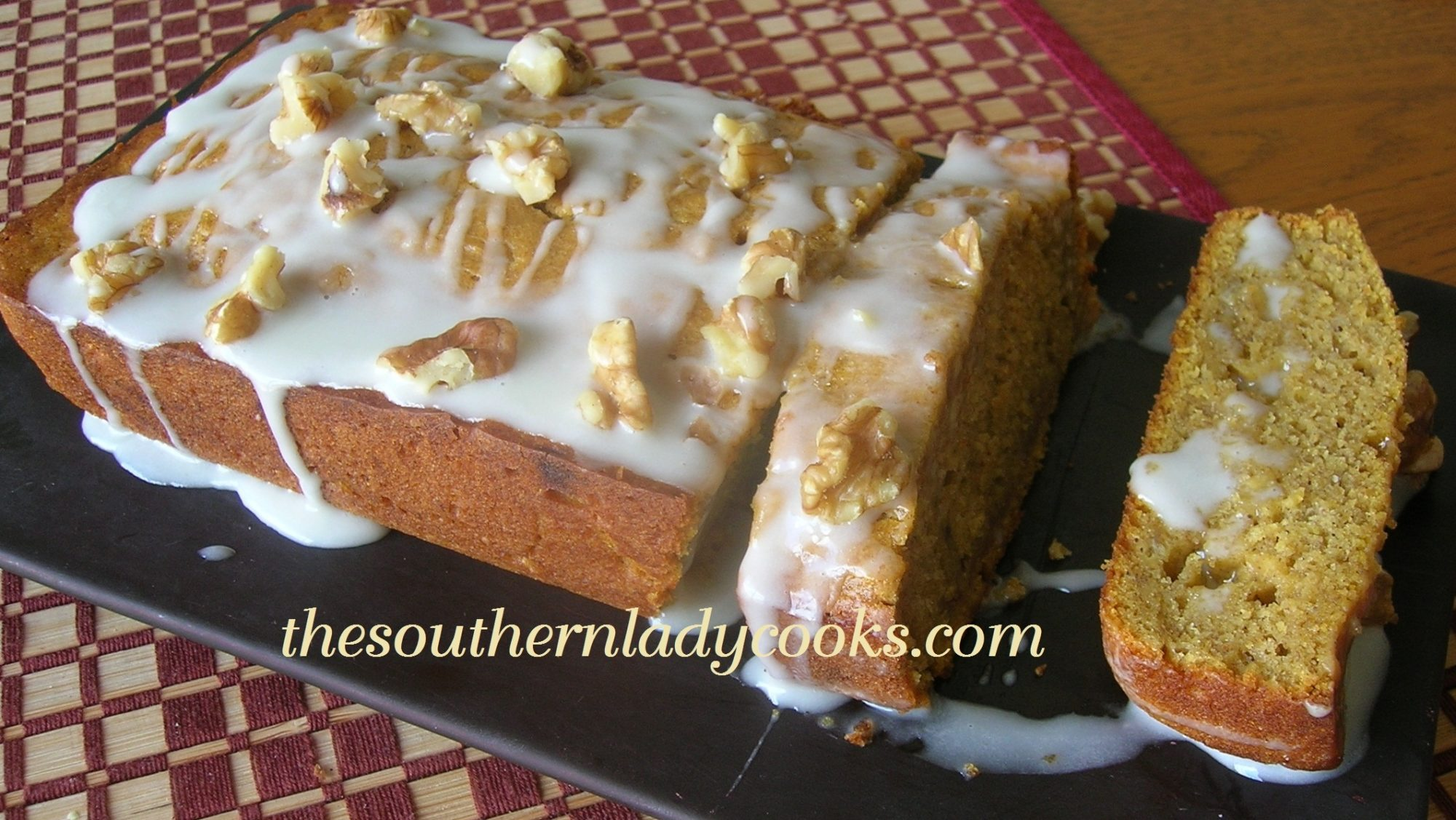 PUMPKIN BANANA BREAD | The Southern Lady Cooks