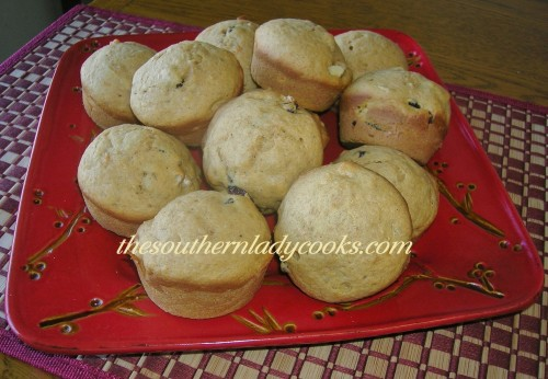 Sweet Potato Muffins - Copy