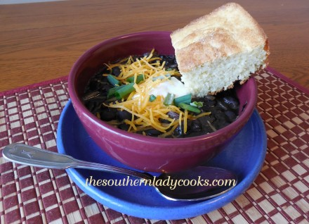 Crock Pot Black Bean Soup
