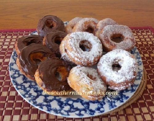 Easy Homemade Doughnuts Recipe — Dishmaps