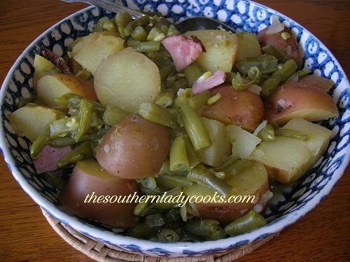 Green Beans and Potatoes - TSLC