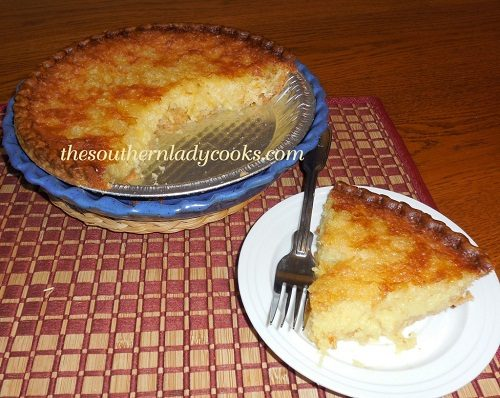 PINEAPPLE CHESS PIE