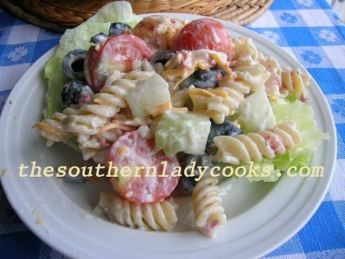 Ranch Pasta Salad TSLC