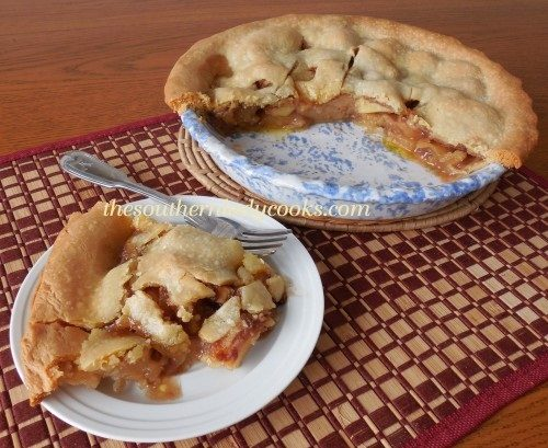 Southern Apple Pie - TSLC