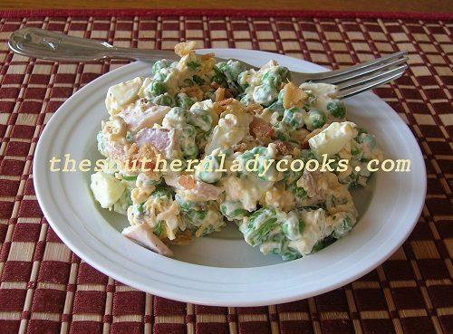 Southern Pea Salad - TSLC
