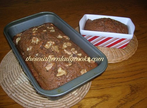 Spiced Applesauce Bread - TSLC