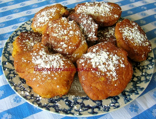 ... on September 30, 2012 by The Southern Lady in Yummy Pumpkin Fritters