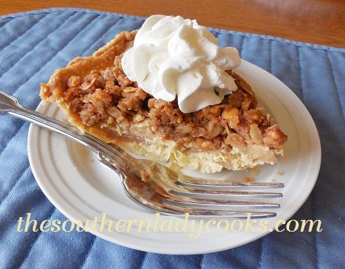 Honeyed Apple Peanut Butter Tart Recipe — Dishmaps