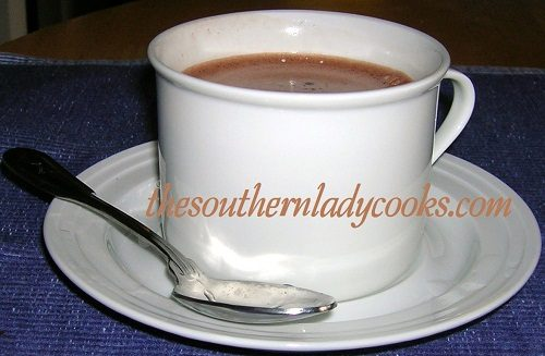 CHOCOLATE CINNAMON FLAVORED COFFEE