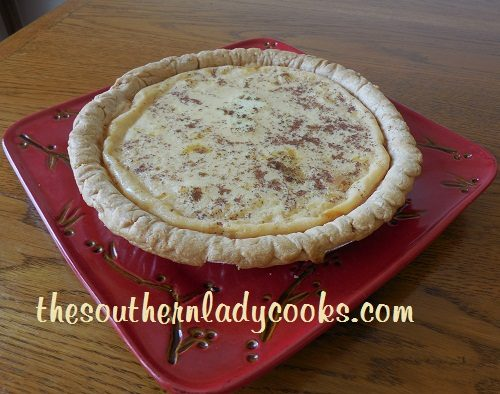 Easy Custard Pie - TSLC