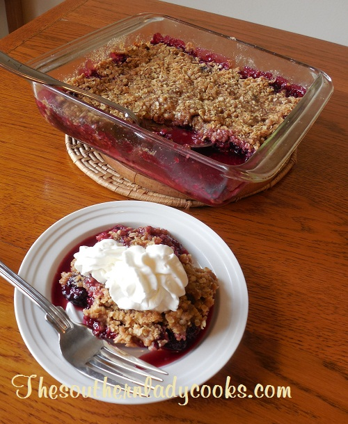 Blackberry Crumble - TSLC