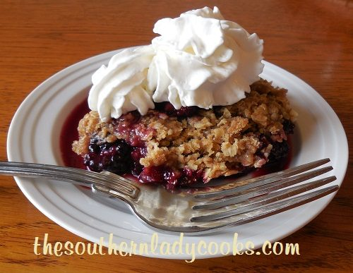 Blackberry Crumble TSLC
