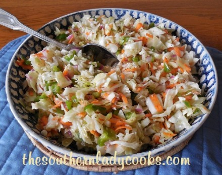 Old-Fashioned Ice Box Coleslaw-TSLC