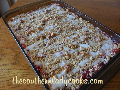 Crescent Cherry Cheesecake Bars - TSLC
