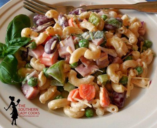 Ham And Bean Pasta Salad