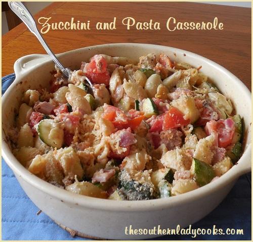 Zucchini and Pasta Casserole -TSLC
