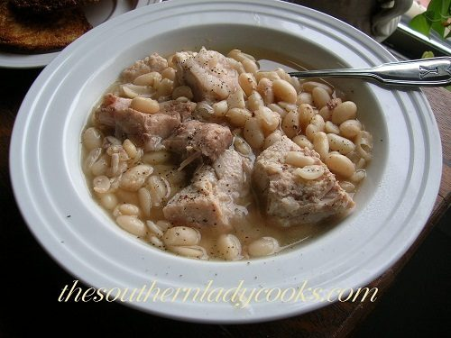 Pork Roast and White Beans - TSLC