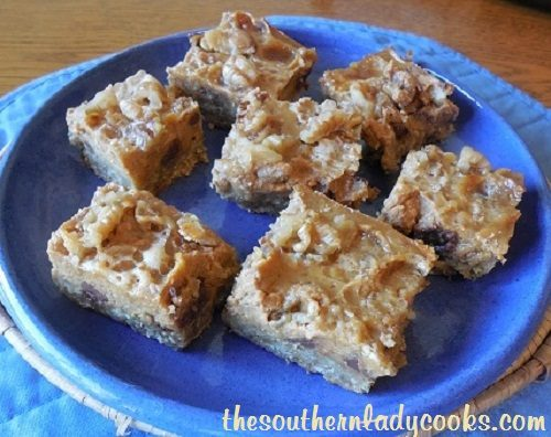 Chocolate Chip Pumpkin Pie Bars - TSLC