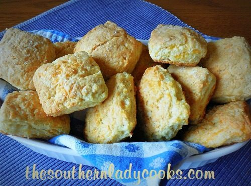 BUTTERY CHEDDAR SCONES