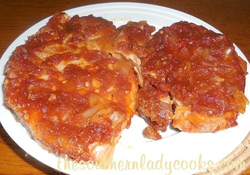 Crock Pot Coca Cola Pork Chops -TSLC