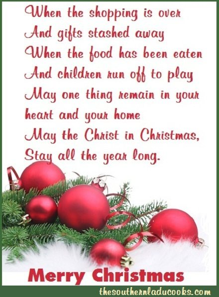 LOVE AND MERRY CHRISTMAS FROM THE SOUTHERN LADY COOKS
