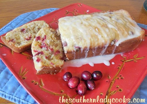 Cranberry Nut Bread - TSLC
