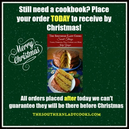 Cookbook Before Christmas
