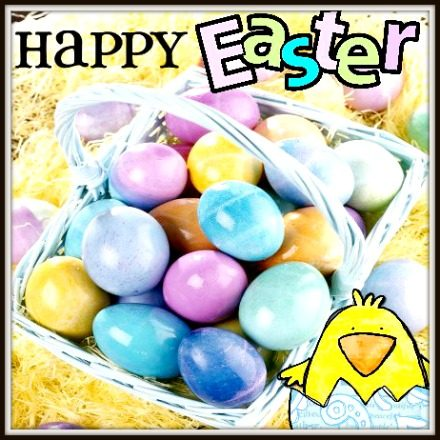 HAPPY EASTER EVERYONE AND AN UPDATE