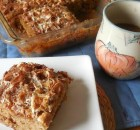 APPLESAUCE MARSHMALLOW COFFEE CAKE
